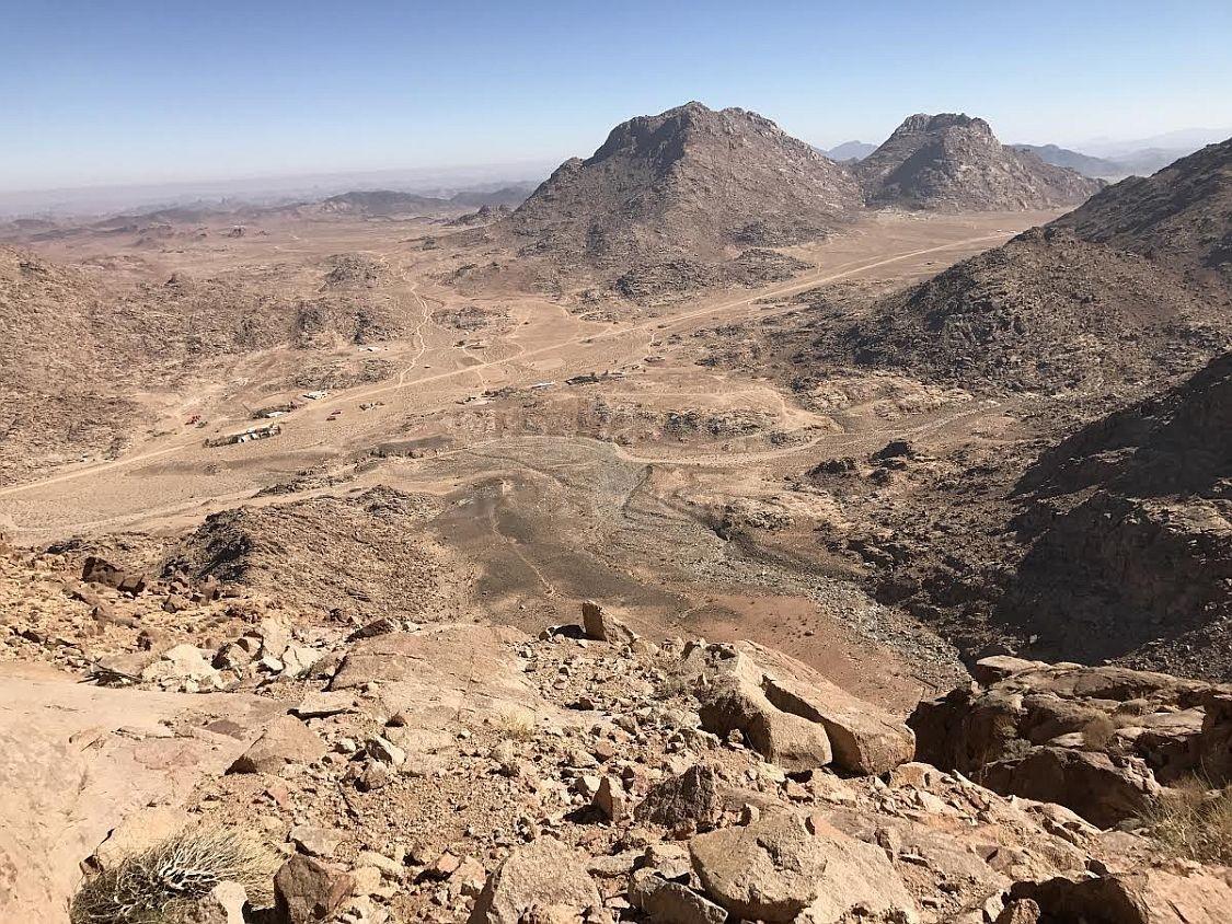 jabal maqla cave of elijah