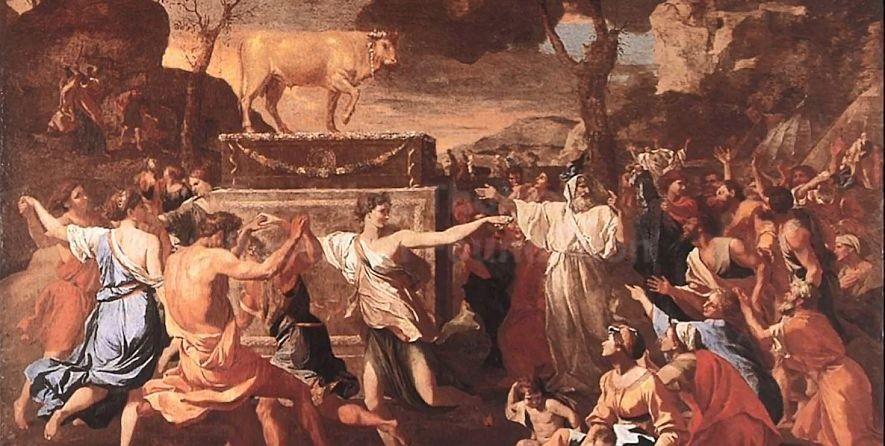 golden calf painting