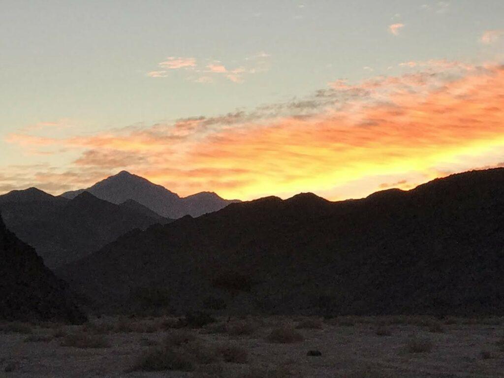 Sunrise on Sinai.