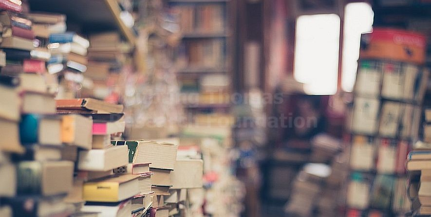 stacks of books sources